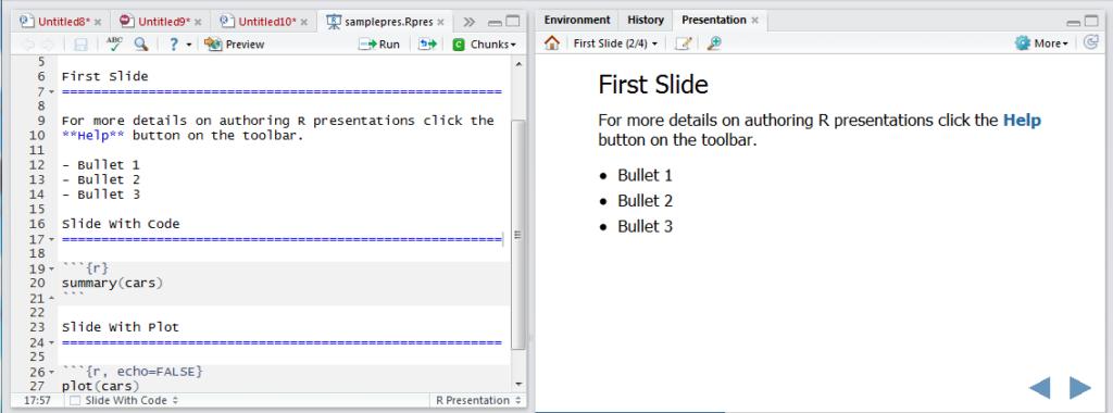 Create slides image