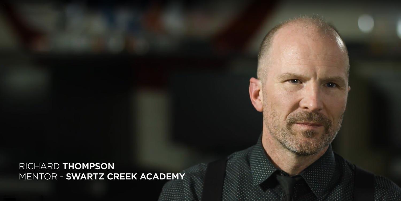 Richard Thompson - Mentor, Swartz Creek Academy