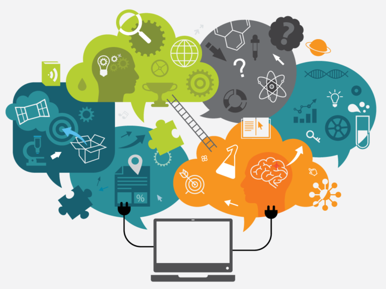 Online learning graphic representation
