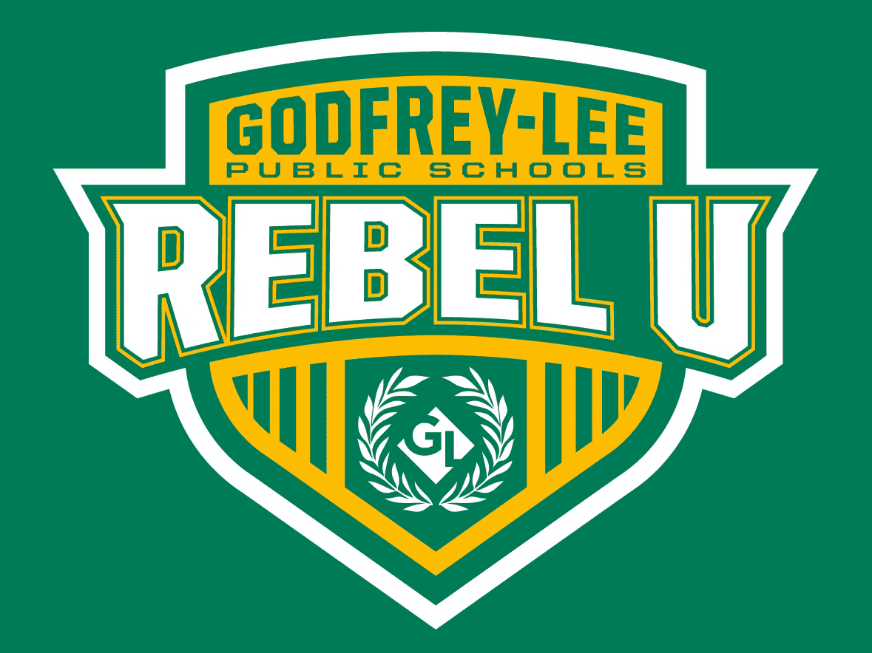 Godfrey-Lee Public Schools Rebel U Shield