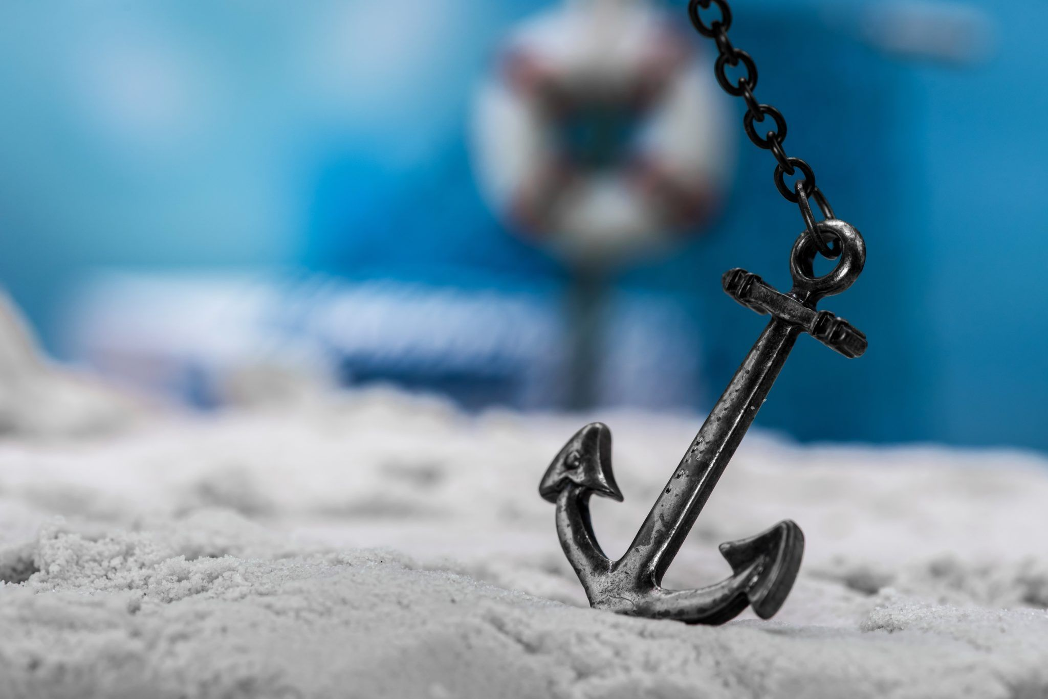 Anchor in Sand