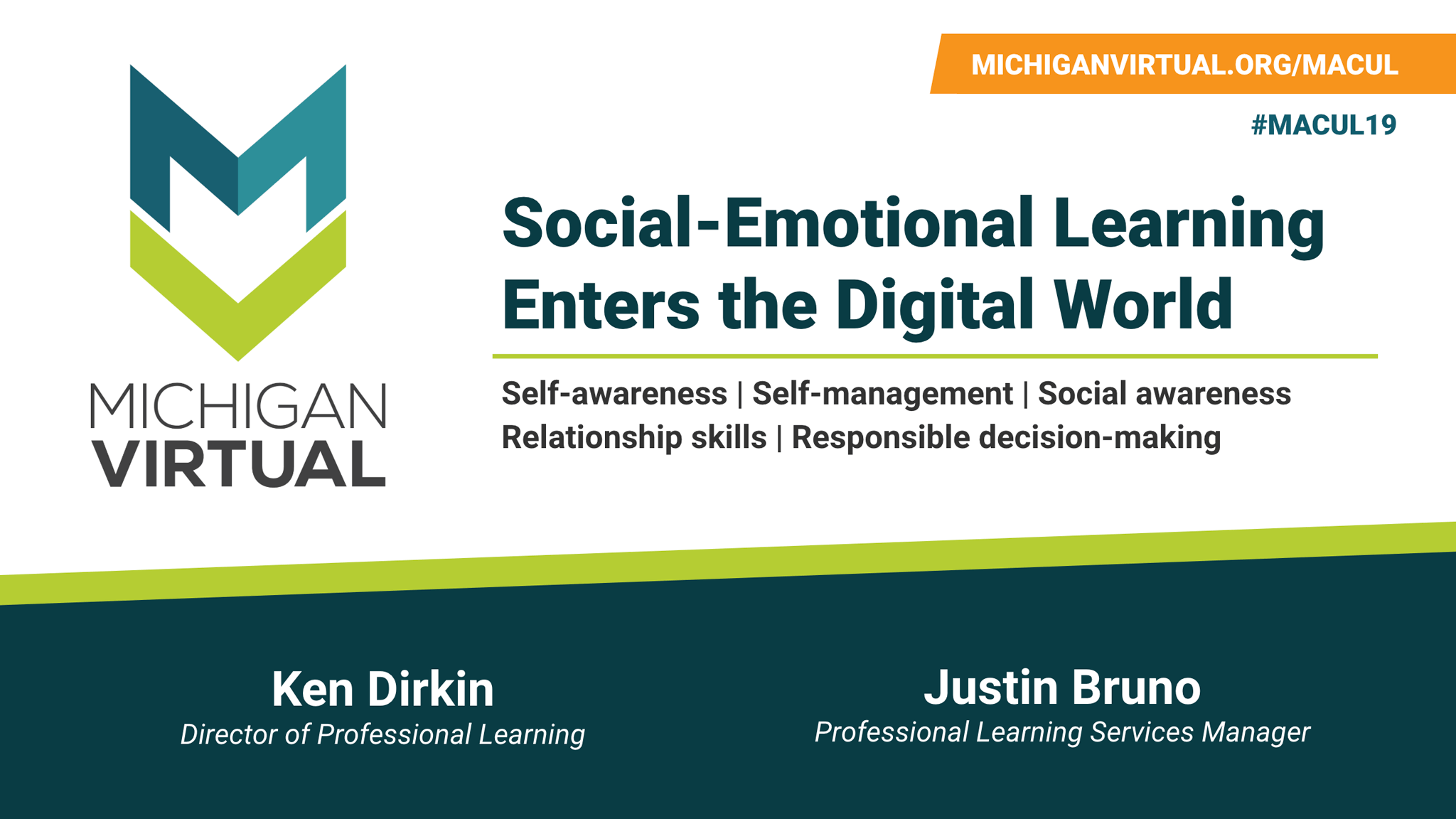 Social-Emotional Learning Enters the Digital World Presentation Cover
