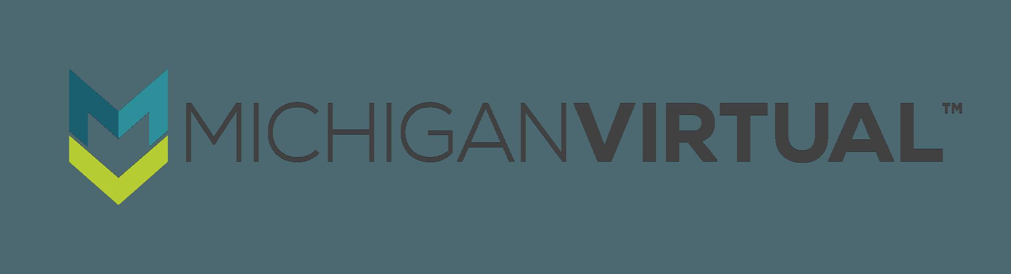 Michigan Virtual Logo (Horizontal)