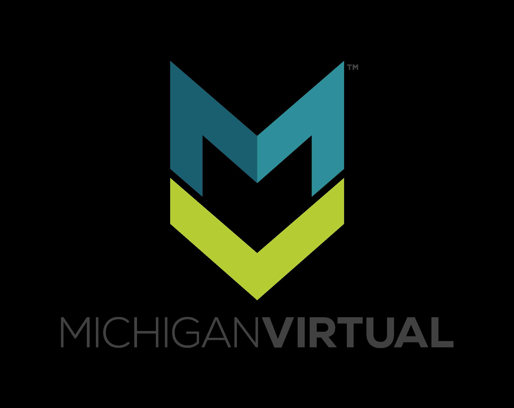 Michigan Virtual Logo (Vertical)