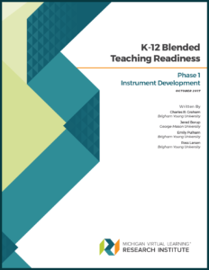 K-12 Blended Teaching Readiness