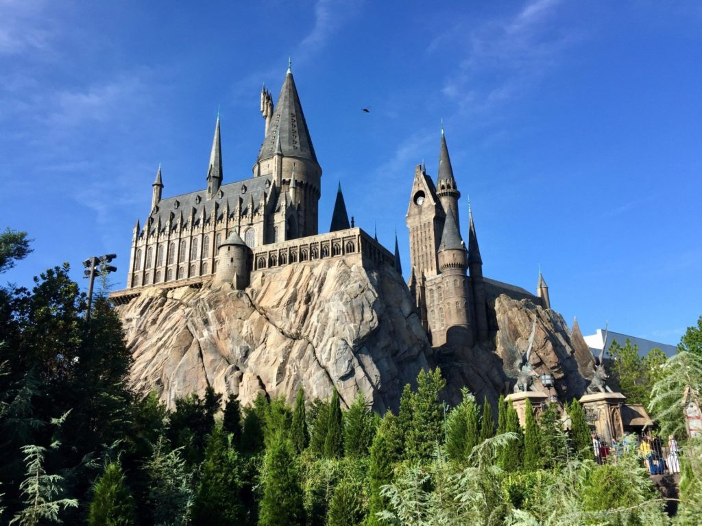 Hogwarts Castle at Universal Studios Florida